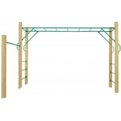 Lifespan Kids Amazon 3.0m Monkey Bar Set
