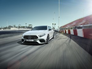 Mercedes-AMG A 45 S Named Best Sports Car Under $100K