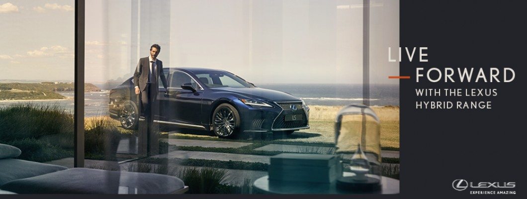 It's time to reimagine your future with Lexus Hybrid