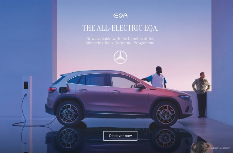 The All-Electric EQA