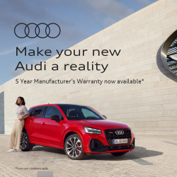 Audi Australia - 5 Year Manufacturer's Warranty now available