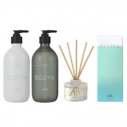 Ecoya Lotus Flower The Fragrant Bathroom Set