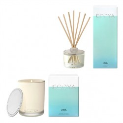 Ecoya Lotus Flower Madison Candle and Diffuser Set