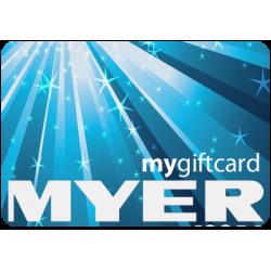Myer $50 Instant Flexi E-Gift Card
