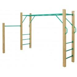 Lifespan Kids Amazon 2.5m Monkey Bar Set