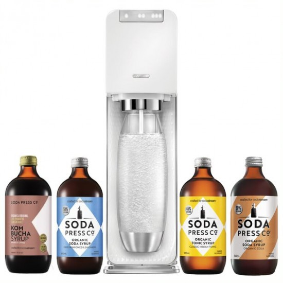 SodaStream Power White with Flavours