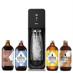 SodaStream Source Element Black with Flavours