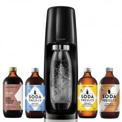 SodaStream Spirit Black with Flavours