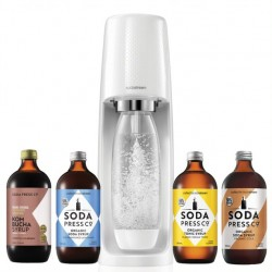 SodaStream Spirit White with Flavours