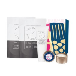The Base Collective Bathing Beauty with Lily & Pear Candle